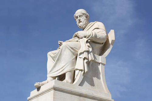 柏拉图雕像