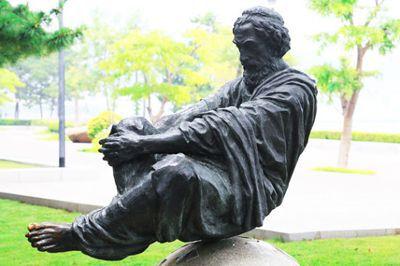 阿基米德雕塑