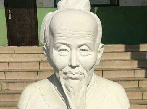祖冲之雕塑