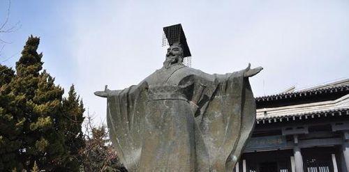 秦始皇嬴政雕塑