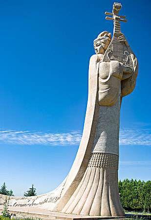 王昭君雕塑