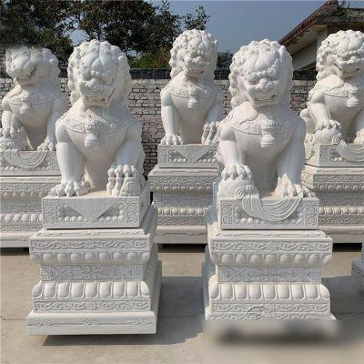 故宫石雕狮子