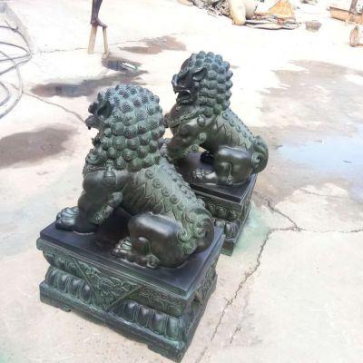 天安门铜雕狮子