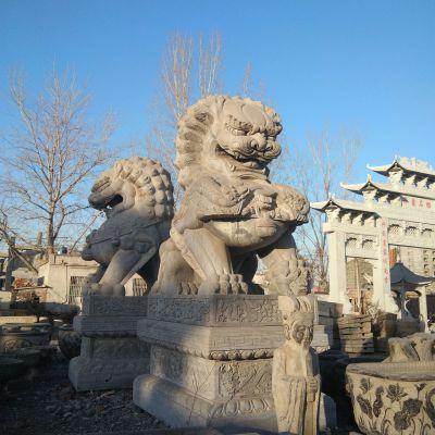 北京石雕狮子