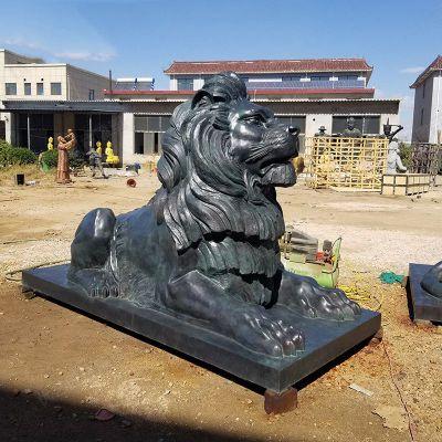 港币狮铜雕塑