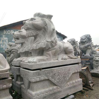 石雕汇丰狮子