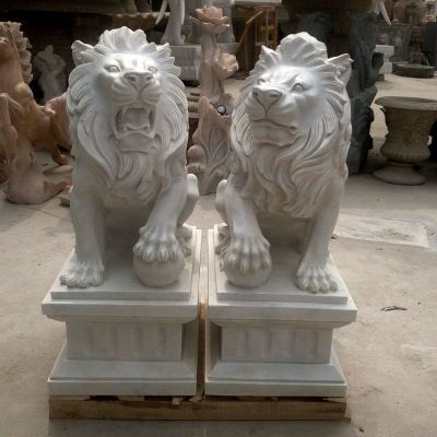 汇丰狮子石雕塑