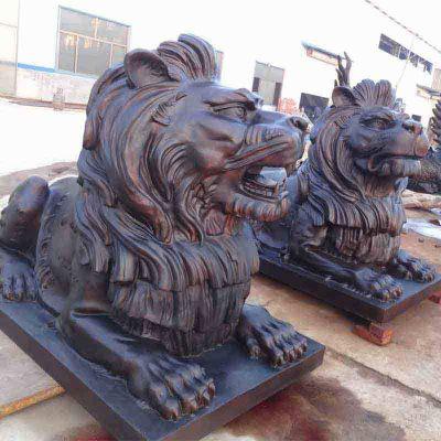 汇丰狮子雕塑