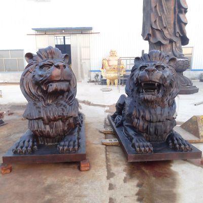 铜雕汇丰狮子雕塑