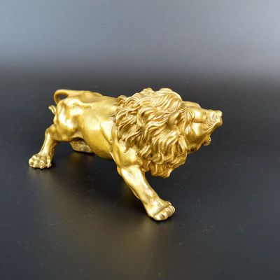 西洋狮子铜雕 (3)