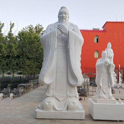 孔子圣像雕塑