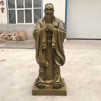孔子青铜雕像