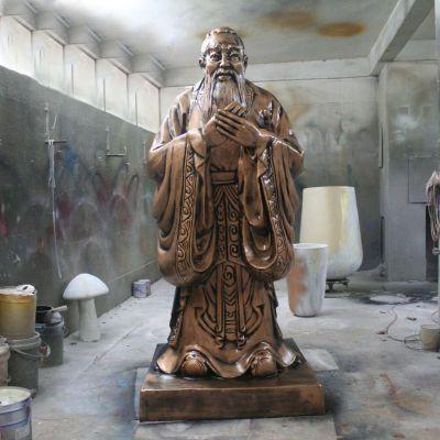 孔子像青铜雕塑
