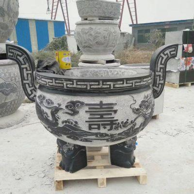 香炉鼎石雕