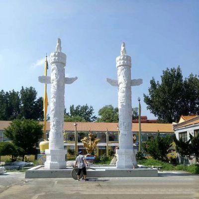 华表柱石雕塑