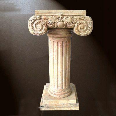 大理石罗马柱石雕塑
