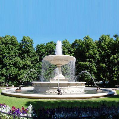 大型欧式石雕喷泉