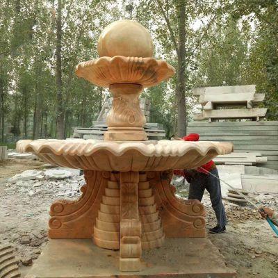 大型石雕喷泉