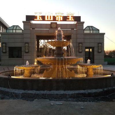 欧式石雕喷泉