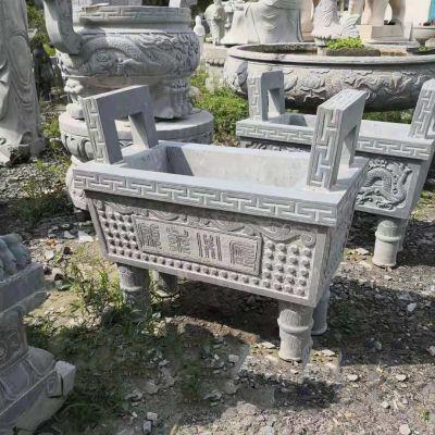 大理石香炉石雕