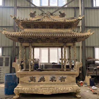 铸造铜香炉