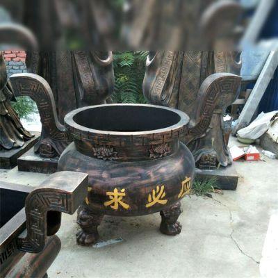 有求必应祈福铜雕香炉