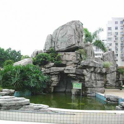 公园塑石假山景观雕塑