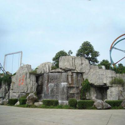 广场GRC塑石假山雕塑