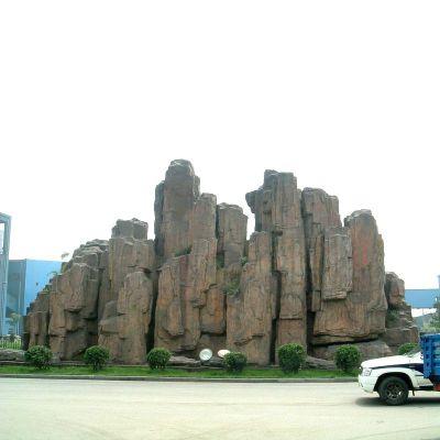 广场塑石假山雕塑