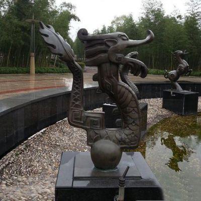 城市喷泉雕塑 铜雕喷泉