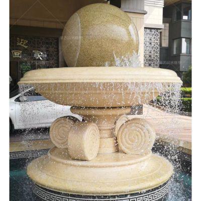 大理石风水球雕塑