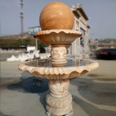 风水球石雕塑