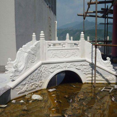 汉白玉庭院石桥