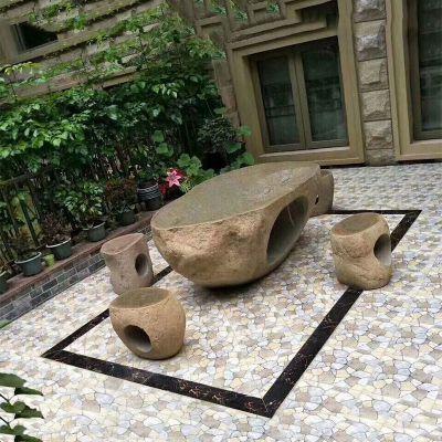 庭院石桌凳