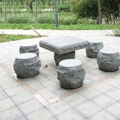 公园石桌凳