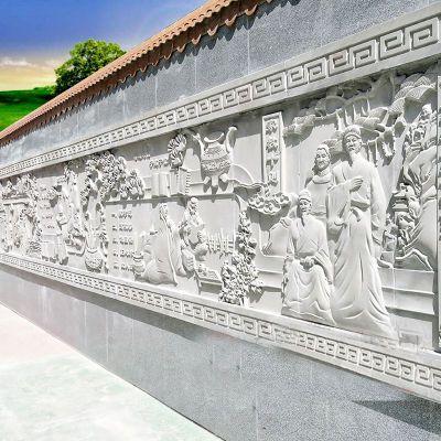 大理石人物石刻浮雕