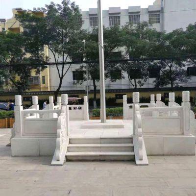 广场升国旗台