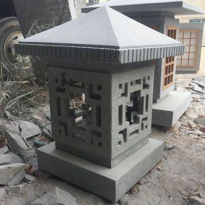中式现代石灯笼