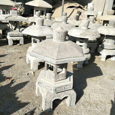 日式仿古石灯笼