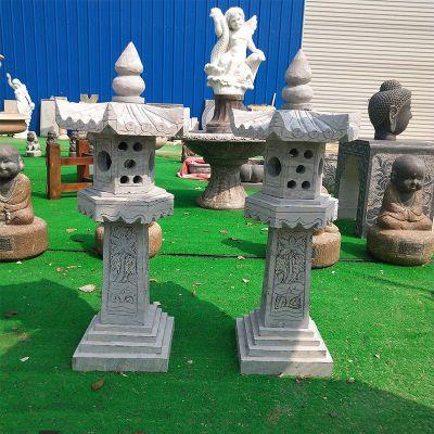 中式大理石灯笼