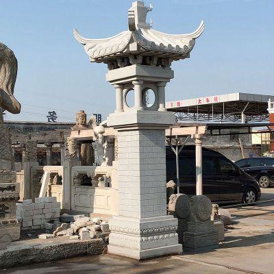 高墩中式石雕灯笼