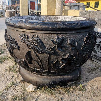 青石做旧石缸水缸