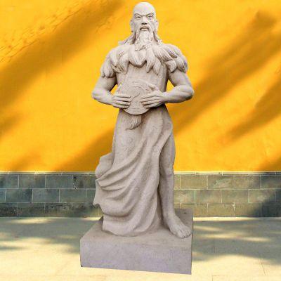 青帝伏羲石雕塑