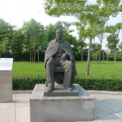 公园铸铜爱迪生雕塑雕像