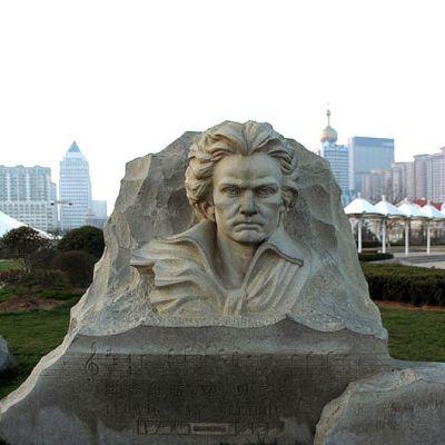 贝多芬石刻浮雕胸像