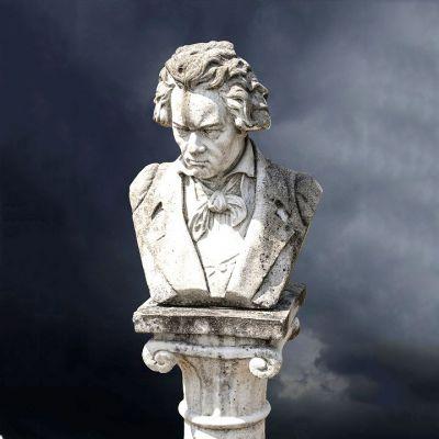 贝多芬石雕肖像