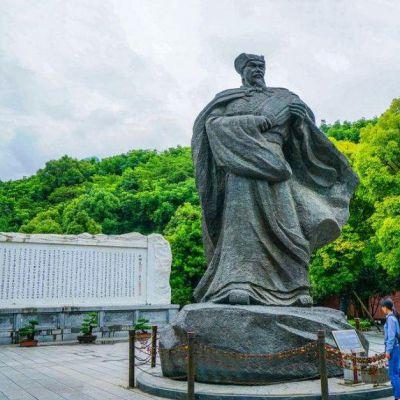 三国名人诸葛亮雕塑