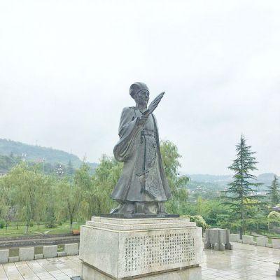 诸葛亮军师铜雕塑像