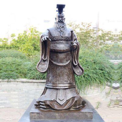 帝王雕塑秦始皇雕像