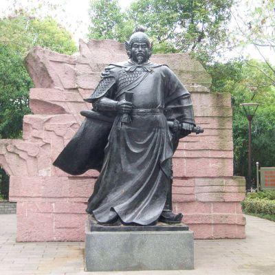 岳飞公园铜雕景观雕塑